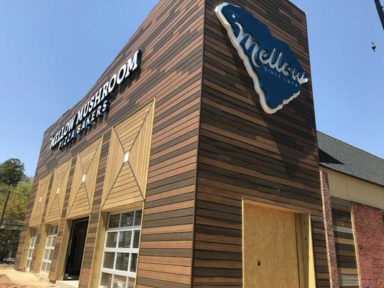 The new Clemson Mellow Mushroom celebrates Clemson University as well as the state of South Carolina. It will open on June 25.