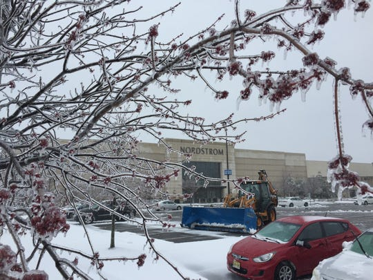 Higher costs for snow removal increased a net loss for the owner of Cherry Hill Mall.