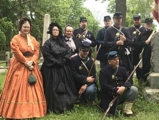The Second New Jersey Brigade, Civil War Re-Enactors