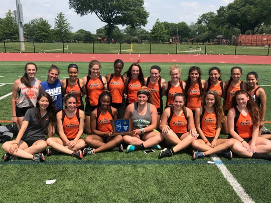 North 1, Group 1 state sectional champion Hasbrouck