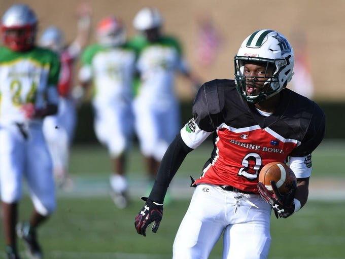 Dutch Fork wide receiver Bryce Thompson, a Tennessee