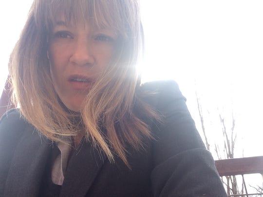 Carolyn Hank snapped an accidental selfie. She doesn't