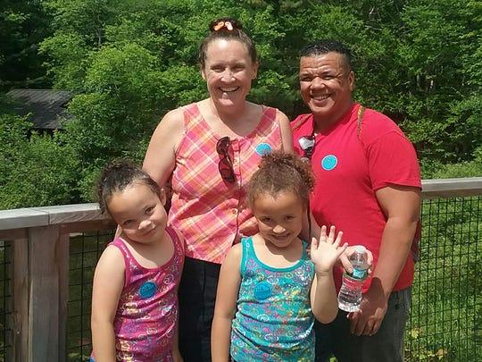 Kenzo Morris and family.