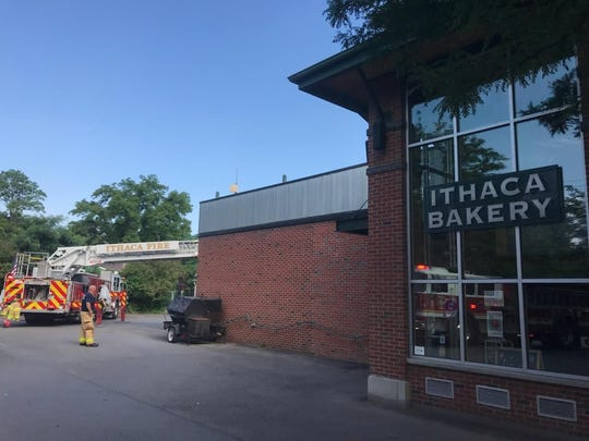 Firefighters responded to the Ithaca Bakery on Meadow