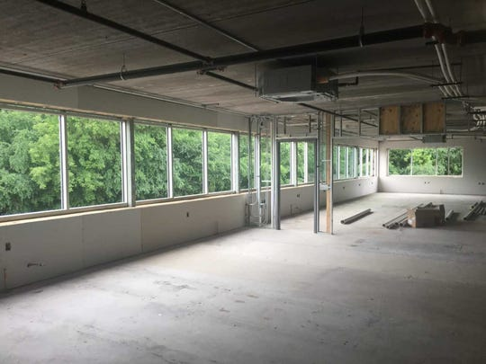 The Oconomowoc High School East Campus work has seen new upper level windows installed as part of the projects going on there.