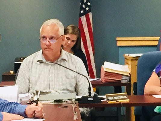 Canandaigua Town Supervisor Greg Westbrook