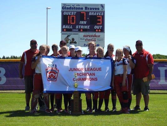 St. Clair 14u softball