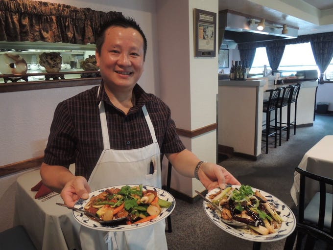 Chu's Too owner Lambo Diep stayed open during the Carr
