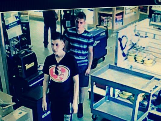 2 sought in Citrus Heights welding store heist