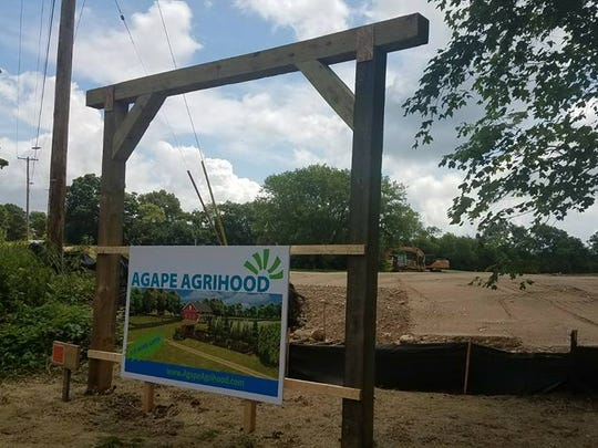 Construction on Agape Agrihood, a subdivision development centered around a farm setting, began in the Town of Mukwonago in June 2017. Most of the development's 10 residential lots have already been reserved, with home construction slated to begin in late August or early September.