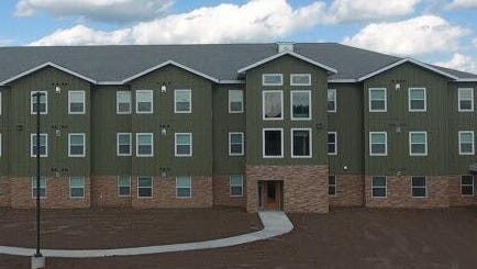 Westown Place Apartments in Forest City are pictured here. Forest City Economic Development sold shares to help build this complex.