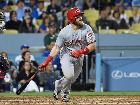 Cincinnati Reds catcher Tucker Barnhart