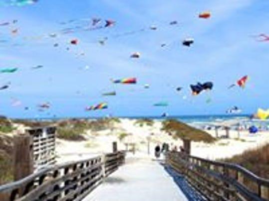 Kite Day  Padre Island