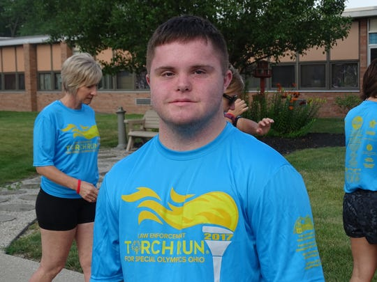 Caden Cox, 17, will compete in the 50-meter Freestyle and 100-meter backstroke at the Special Olympics games in Columbus this weekend.