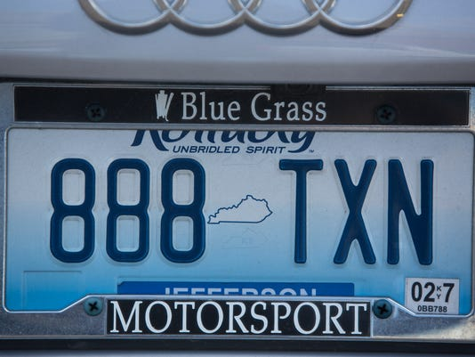 Kentucky says woman can't have JESUS1 license plate | Joseph Gerth