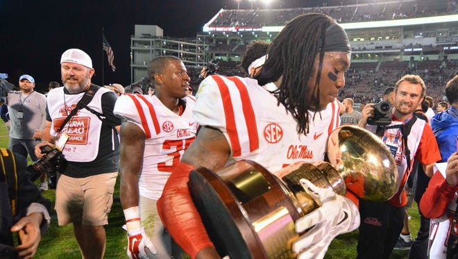 Ole Miss' Trae Elston joins Robert Nkemdiche and Laquon Treadwell as Rebels on Athlon Sports' All-America teams.