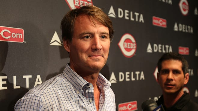 The Reds named Dick Williams the team's new general manager on Wednesday.