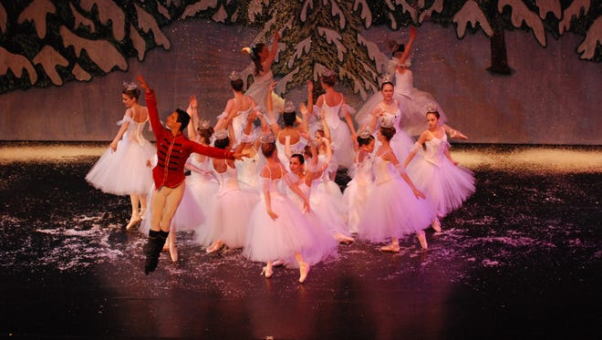 "Members of the Carolina Ballet will perform with 87 local dancers from 12 area schools of dance during the ""Green Bay Nutcracker Ballet"" this weekend at the Meyer Theatre."