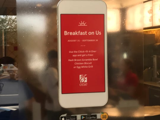 Get a free breakfast at Chick-fil-A with the restaurant's