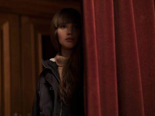 Red Sparrow exclusive
