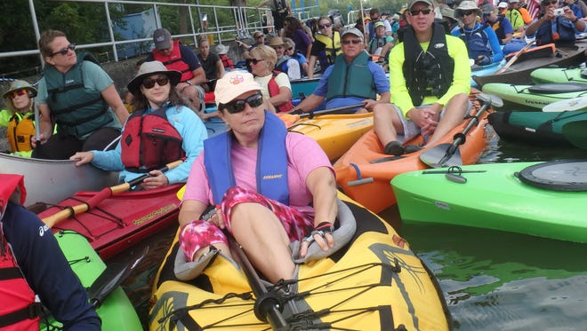 The Appleton Locks Paddle that was expected to happen Saturday has been postponed due to potentially dangerous conditions on the Fox River.