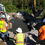Melbourne completes sewer pipe repair