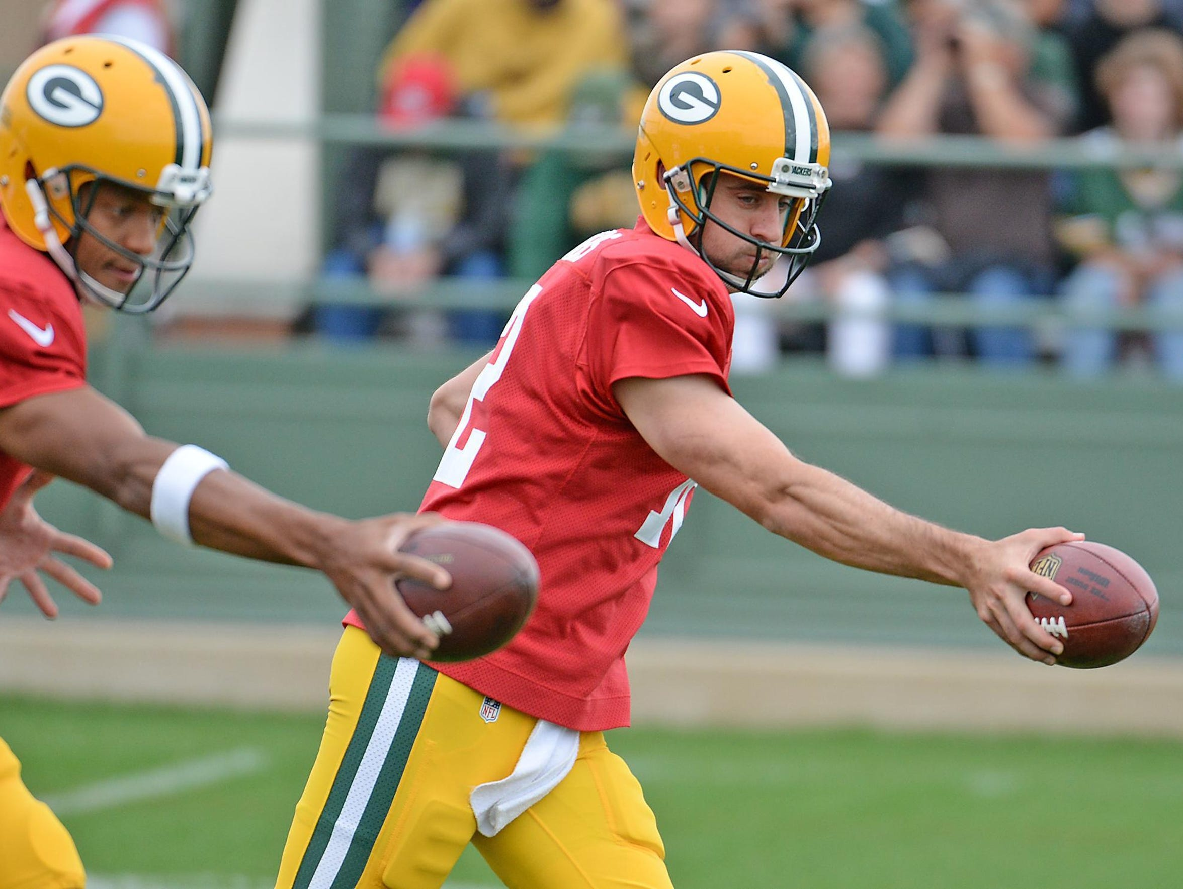 The Green Bay Packers training public practices will