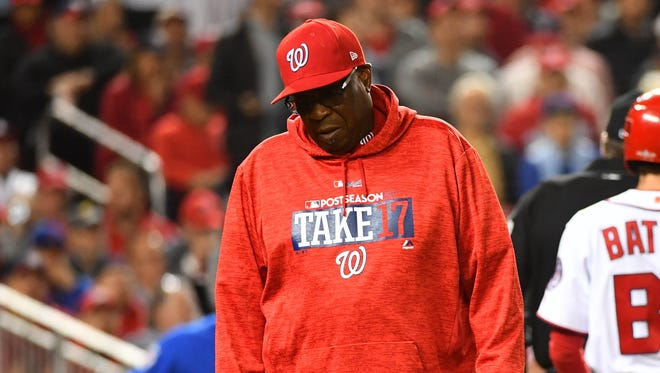 The Nationals won the division title in both seasons under Dusty Baker.