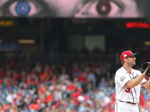 May 6: Max Scherzer, Nationals, 15 vs. Phillies