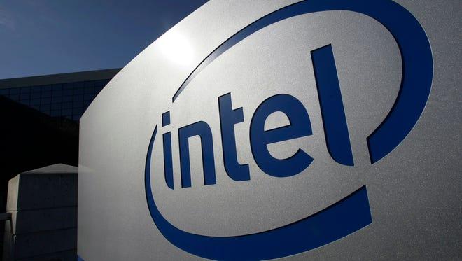 Intel headquarters in Santa Clara, Calif.