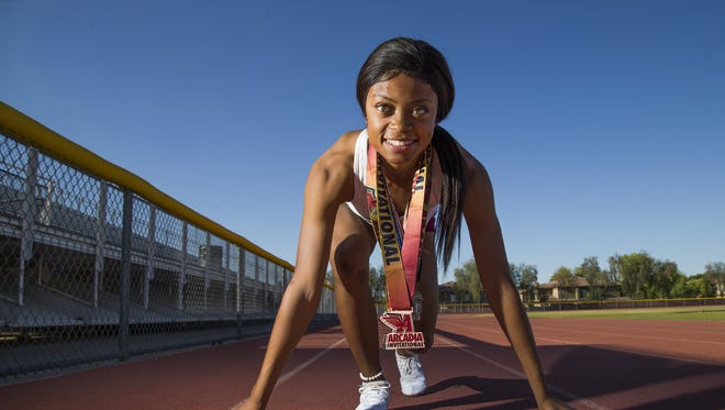Autumn Smith of Mountain Pointe High School in Ahwatukee has been named azcentral sports Girls Track and Field Athlete of the Year.