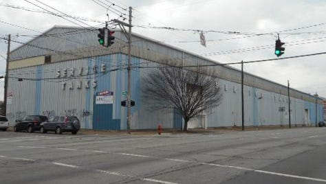 The site of a new apartment complex slated to come to Nulu on Main Street.