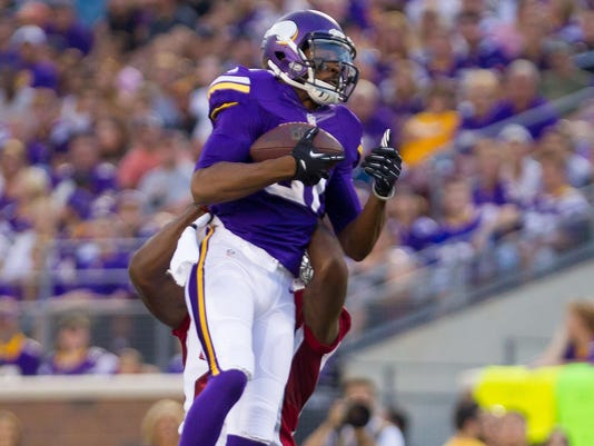 Vikings release WR Jerome Simpson after more drug trouble
