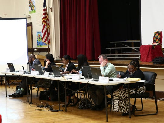 The Poughkeepsie school board at its Feb. 21  meeting