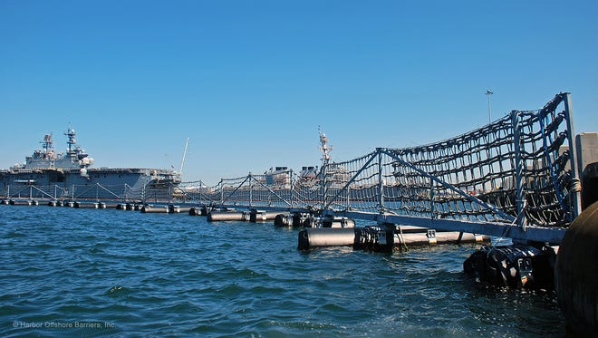 Harbor Offshore Barriers will display its products next month in the Middle East.