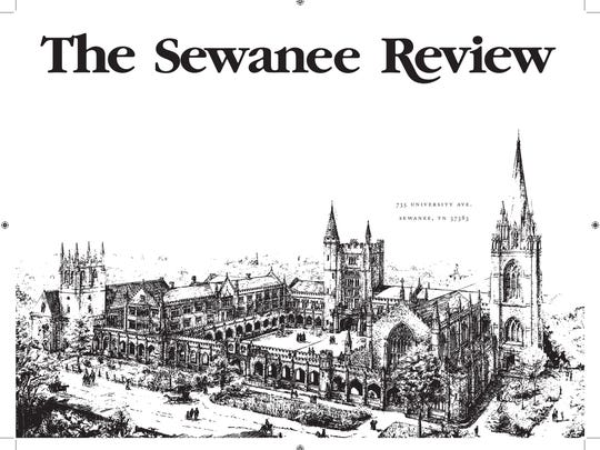 New at The Sewanee Review: pictures.