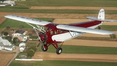 A Fairchild in Flight