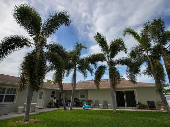 A view of The New Beginnings in Cape Coral which serves