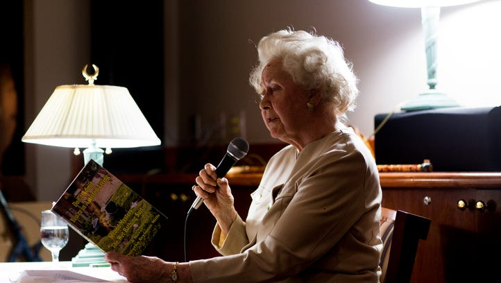 89-year-old author Dorothy Jane Mills, a resident of