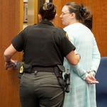 Noelle Devlin is was sentenced to a year in prison by Judge James DeWeese on Monday afternoon.