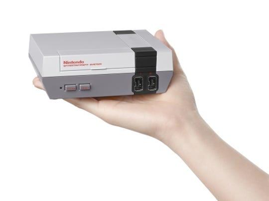 The mini collector's edition NES.