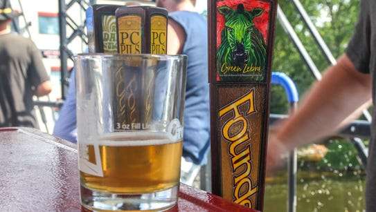 Founders Brewing Co. debuted Green Zebra, a watermelon