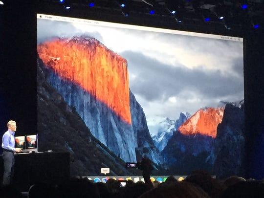 OS X, dubbed El Capitan