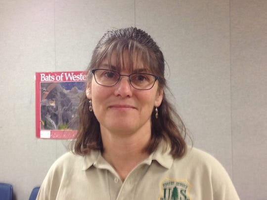 Laura Conway, forest biologist for the Lewis and Clark National Forest.
