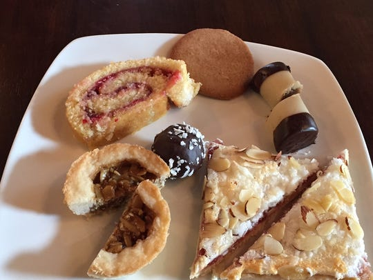 Assorted pastries at Fika Swedish coffee house in Covington