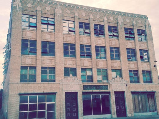 A building at 1100 Lamar, formerly a Maskat Shrine Temple, is in the running to be refurbished into apartments with state tax credits for low-income housing.