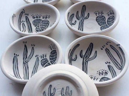 Bowls by Coco Barrett-Tormey