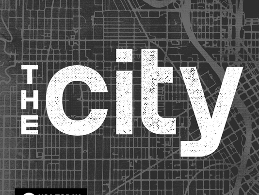 The City Podcast Logo