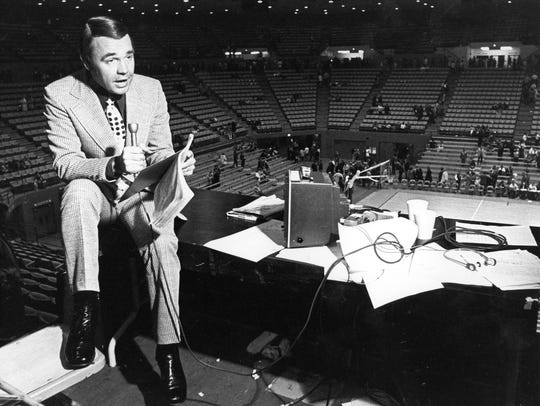 Longtime network television sports broadcaster Dick