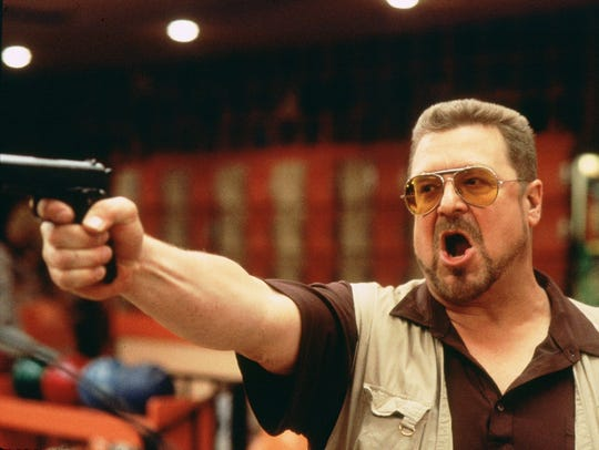 John Goodman stars as Walter in the 1998 Coen Brothers